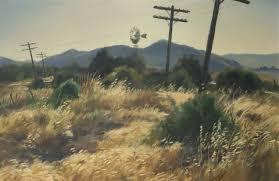 Telephone Poles In A Landscape By Emil Jean Kosa Jr On Artnet