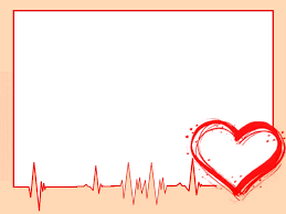 Heart Powerpoint Templates Heart Cardiogram Free Ppt Backgrounds For Your Powerpoint