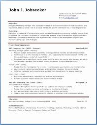 Free Professional Resume Template Fascinating Download Free Professional Resume Templates Inspirational Free