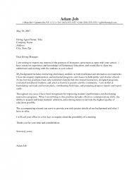 cover letter Cover Letter Template For Teachers Sample Teaching College  Education Job Searching Teachingcover letter teacher ...