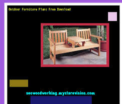 Plans Garden Bench Download Free Plans And Do It Yourself Guides Outdoor Furniture Plans Free Download
