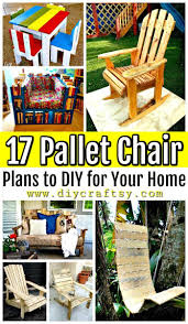 17 pallet chair plans to diy for your home pallet ideas pallet furniture ideas