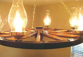 wagon wheel chandeliers hanging lantern reion wagon