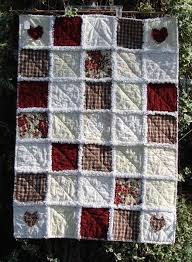 Old Country Rose Cottage Rag Quilt Throw. | Rag Quilts | Pinterest ... & Old Country Rose Cottage Rag Quilt Throw. Adamdwight.com
