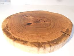 Large Bowl Display Stand 100 Large Elm Tree Wood Slice Rutic Wedding Cake Stand 81