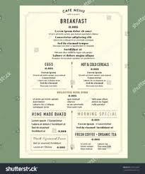 breakfast menu template zizzi pdf 011 35 beautiful restaurant menu designs lovely menus