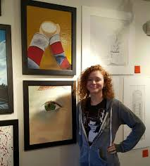 """Naomi Walter on Twitter: """"So happy to be in such a gallery♡ #emergingartist  #love #Happiness #mylife #strive… """""""