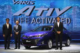 2018 toyota yaris philippines. unique toyota allnew 2018 toyota yaris ativ launched in thailand and toyota yaris philippines w