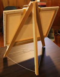 Easel Design Plans 9 Simple Diy Easel Projects Free Plans Mymydiy