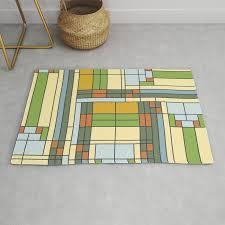 frank lloyd wright pattern s01 rug