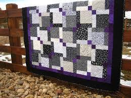 Purple And White Quilt & Black White Minky Flannel Cotton Rag ... & Purple And White Quilt & Challenge Quilt Adamdwight.com