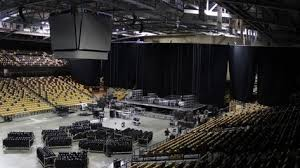 Neal Blaisdell Arena Seating Chart Cfe Arena Timelapse Transformation Pertaining To Amazing Cfe