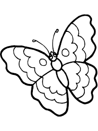 picture of a butterfly to colour. Contemporary Butterfly Butterfly Color Page Inside Picture Of A To Colour Best Coloring Pages For Kids