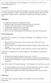 Sales Associate Resume Sales Associate Resume Example Http SlideShare
