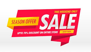 Template For Advertising Amazing Sale Banner Promotional Template For Brand Advertisement
