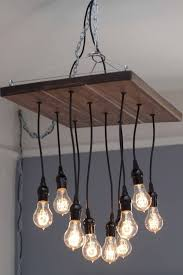 occasional carpenter edison bulb chandelier with regard to plan 7