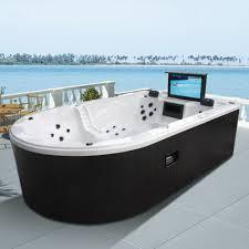 monalisa luxury whirlpool hot tub spa jacuzzi with 32 tv m 3361
