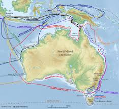 Австралия Википедия Исследование европейскими мореплавателями Австралии до 1812 года 1606 Виллем Янсзон 1606 Луис Ваэс де Торрес 1616 Дерк Хартог 1619 Фредерик де
