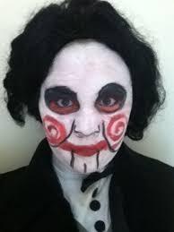 how to look like the jigsaw puppet aka