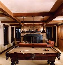 billiard room in the old style