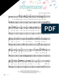 Gethsemane sheet music free with the popularity of rustic themed weddings and diy savvy brides, there is a huge trend of paper flowers wedding business. 2018 03 22 Gethsemane Eng 2 Copyright Law Law