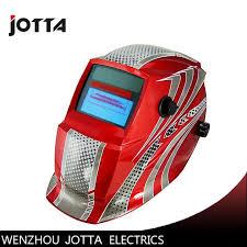 red coll Auto darkening welding helmet/face mask/Electric welder ...