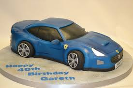 3d Carved Ferrari Car Cake Boys Birthday Cakes Celebration Cakes