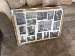 large oak collage photo picture frame
