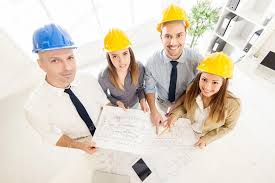 Successful Architects Team  Stock Photo #113172400