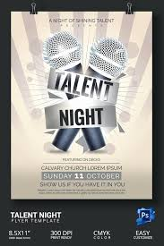 Free Printable Talent Show Flyer Template Word 30 Talent Show Flyer