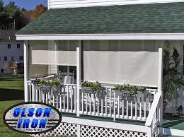 exterior shutters las vegas. drop shades by olson iron, las vegas nevada exterior shutters t