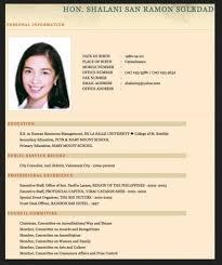 Curriculum Vitae Sample For Fresh Accounting Graduate 14 Msdoti69