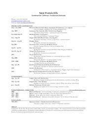 Theatre Producer Sample Resume Working Subjects In Early Modern English Drama Sample Resume Film 20