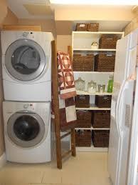 classy beige wood design ikea laundry room ideas display cabinet washing machine basket rattan ladder detergent