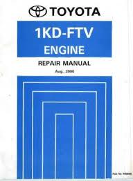 Toyota 1KD-FTV Engine Repair Manual (RM806E) PDF | Toyota Manual ...