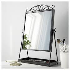 table mirror. ikea karmsund table mirror the is turnable.