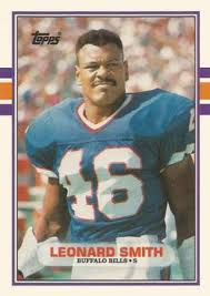 Amazon.com: 1989 Topps Traded #94T Leonard Smith Bills NFL Football Card  NM-MT: Collectibles & Fine Art