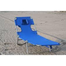 ostrich beach pool chaise lounger blue