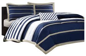 full queen size comforter set in navy