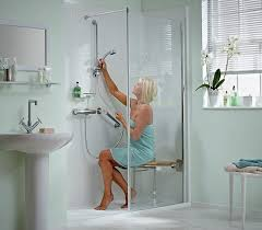 disabled baths showers. mobility bathrooms with easy-access showers and baths disabled