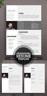 50 Best Resume Templates For 2018 | Design | Graphic Design Junction