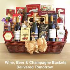 same day delivery best wine baskets fast overnight delivery
