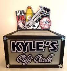 racing gift box hobby gift card box