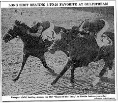 Chart Of The Week The 1948 Gulfstream Park Handicap Ahead
