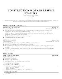 general laborer resume skills ideas general labor resume objective or sample resume