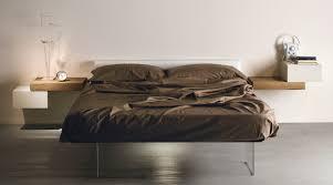 Minimalistisch Wohnen Und Schlafzimmer Einrichten Mit Designer Bett
