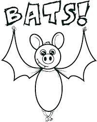 Bat Coloring Page Avatherminfo