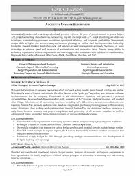 Accounts Payable Manager Resume Modern Resume Template