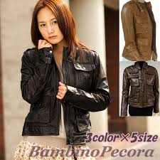 european women leather jacket jacket military single made in italy leather soft