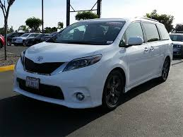 2016 Used Toyota Sienna 5dr 8-Passenger Van SE FWD at Toyota of ...